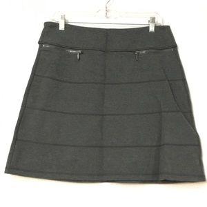 Athelta gray zipper skirt. Size M